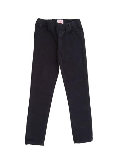 Pink&Orange Pink&Orange Lastikli Kız Çocuk Pantolon Siyah